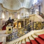 Innenansicht des Bode-Museums in Berlin