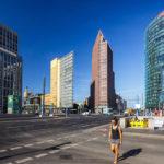 Der Potsdamer Platz in Berlin