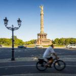 Die Siegessäule auf dem Großen Stern in Berlin