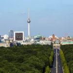 Aussicht von der Siegessäule auf Berlin
