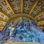 Detailansicht der Siegessäule in Berlin