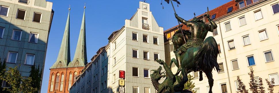 Das Nikolaiviertel in Berlin