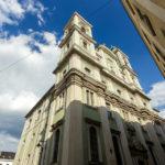 Außenansicht des Alten Doms in Linz