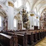 Innenansicht des Alten Doms in Linz