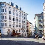 Historische Häuser in der Altstadt von Linz