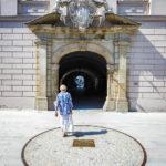 Der Glockenring der Pummerin vor dem Landhaus in Linz