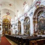 Innenansicht der Minoritenkirche in der Linzer Altstadt