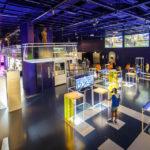 Innenansicht des Ars Electronica Center (AEC) in Linz