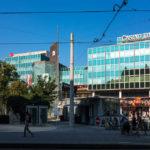 Außenansicht des Austria Trend Hotel Schillerpark in Linz
