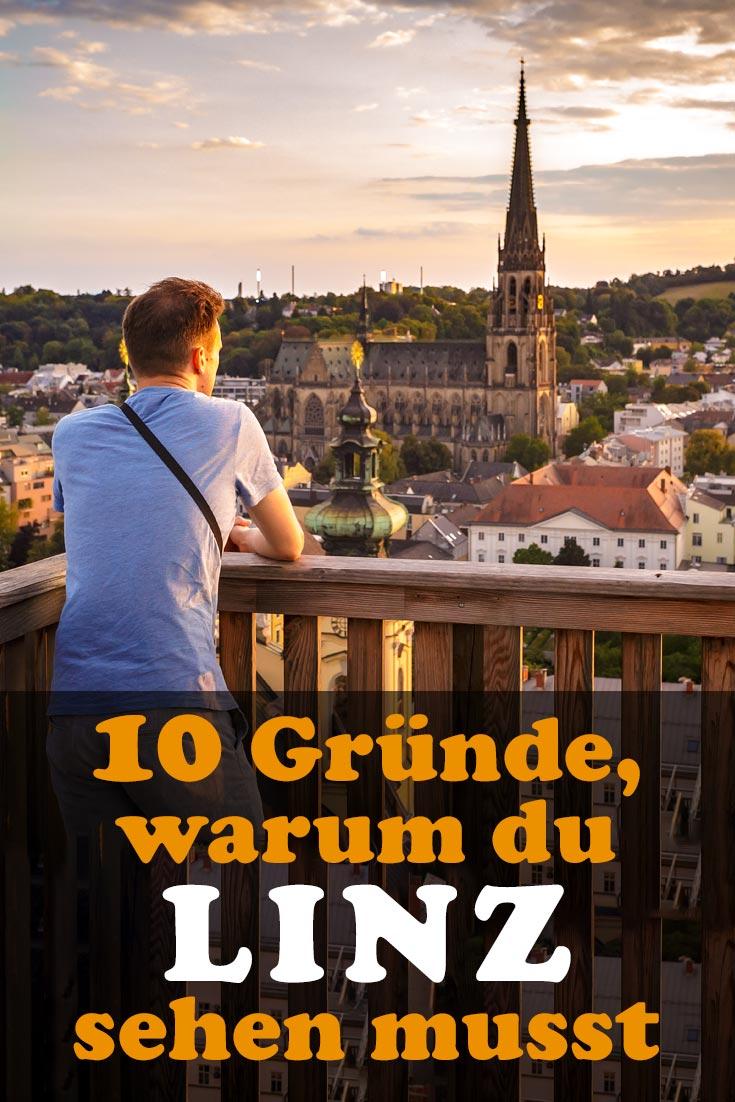 Linz: Reisebericht mit allen Sehenswürdigkeiten, den besten Fotospots sowie allgemeinen Tipps und Restaurantempfehlungen.