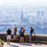 Aussichtsplattform auf dem Pöstlingberg in Linz
