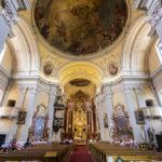 Innenansicht der Basilika auf dem Pöstlingberg in Linz