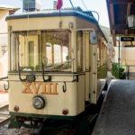 Historische Garnitur der Pöstlingbergbahn in Linz