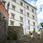 Außenansicht des Schlossmuseums in Linz