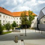 Innenhof des Schlossmuseums in Linz