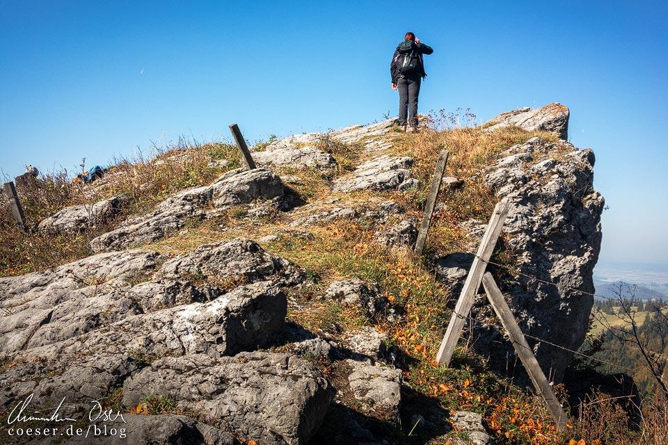 Aussicht auf dem Muckenkogel (Lilienfeld)