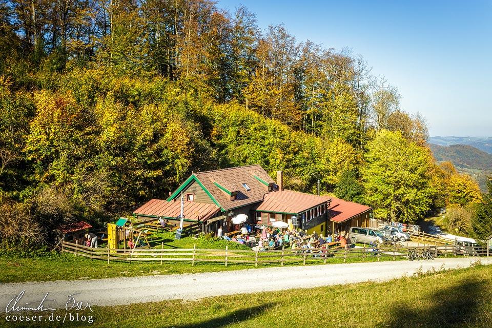 Lilienfelder Hütte auf dem Muckenkogel (Lilienfeld)