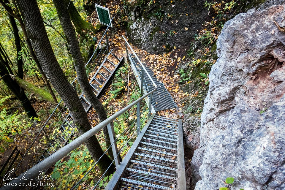 Der Wasserfallsteig auf dem Muckenkogel (Lilienfeld)