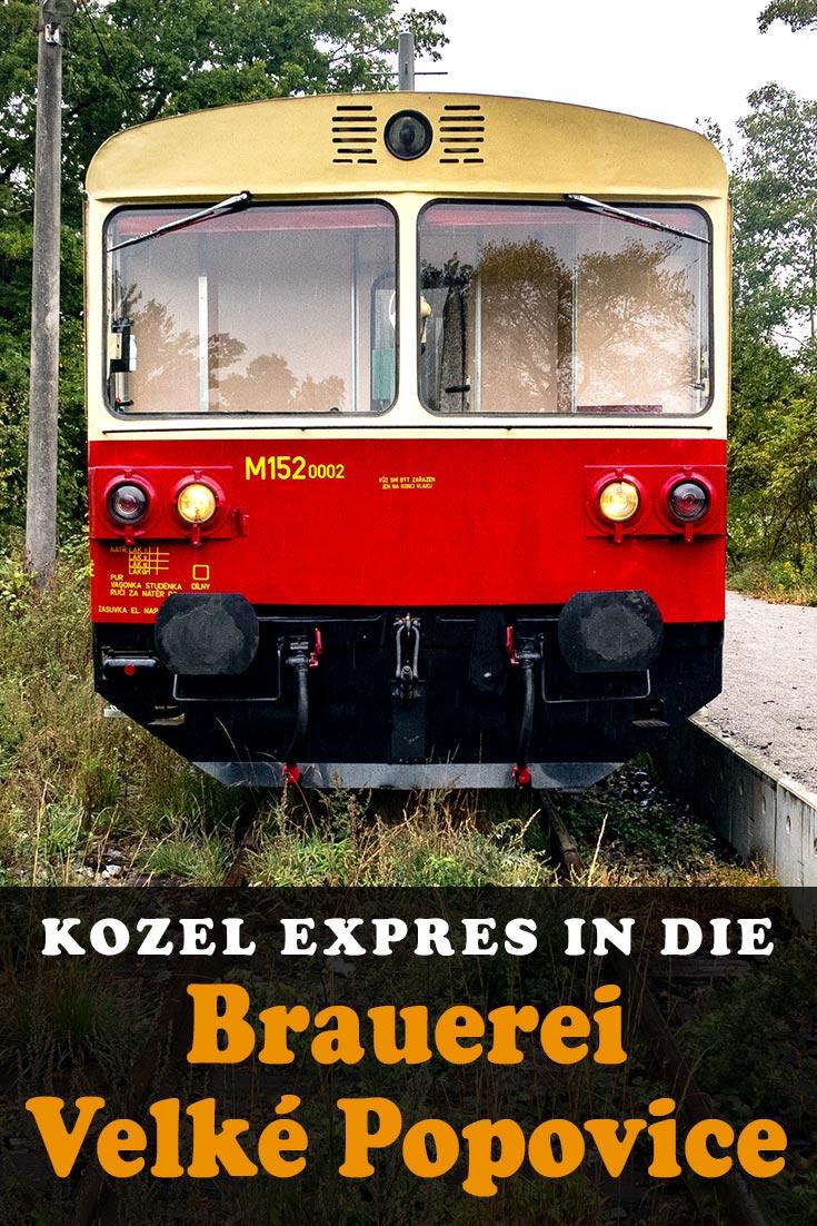 Brauerei Velké Popovice (Kozel Bier): Erfahrungsbericht mit Infos zum Kozel Expres, der Brauereiführung und dem Velkopopovická Kozlovna Restaurant