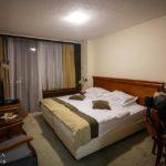 Doppelzimmer im Hotel Kompas in Bled