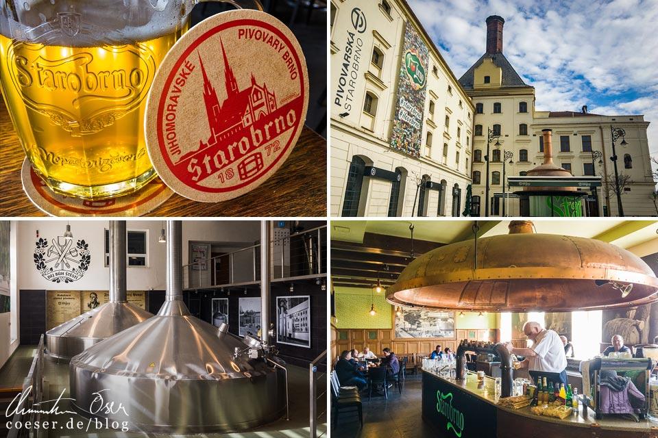 Reisetipps, Reiseinspiration und Fotospots aus der Brauerei Starobrno, Tschechien