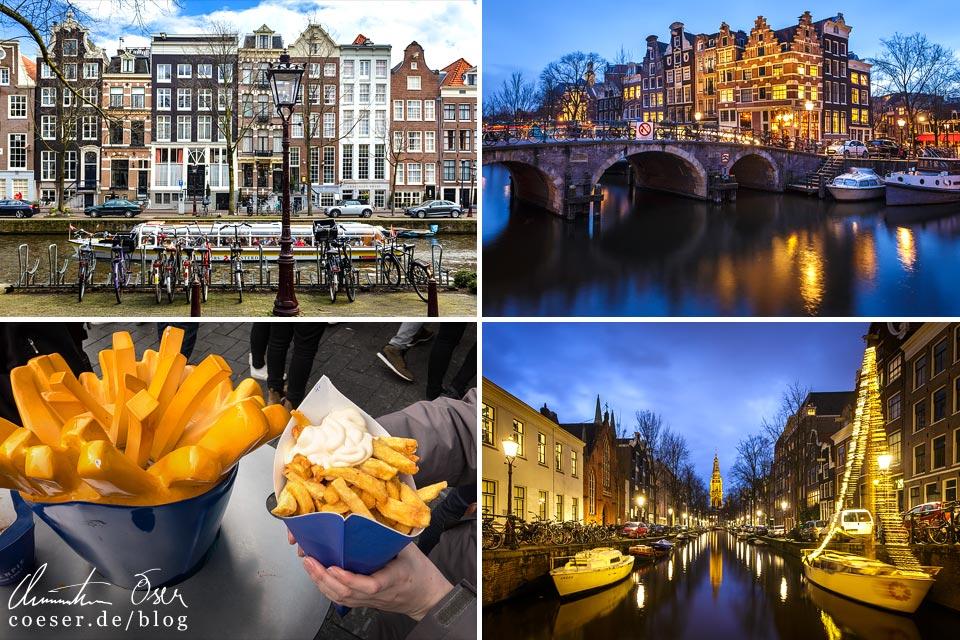 Reisetipps, Reiseinspiration und Fotospots aus Amsterdam, Niederlande