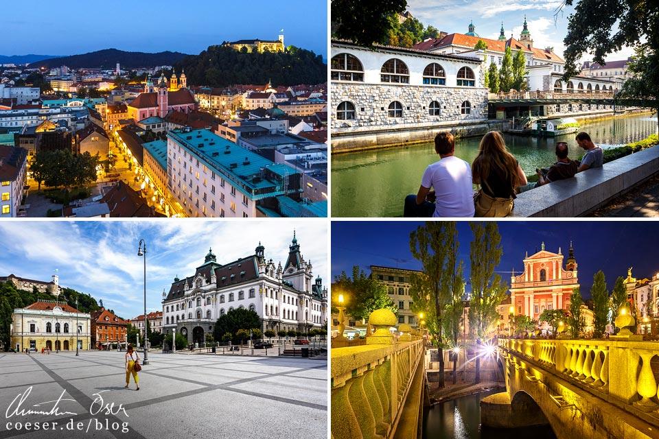 Reisetipps, Reiseinspiration und Fotospots aus Ljubljana, Slowenien