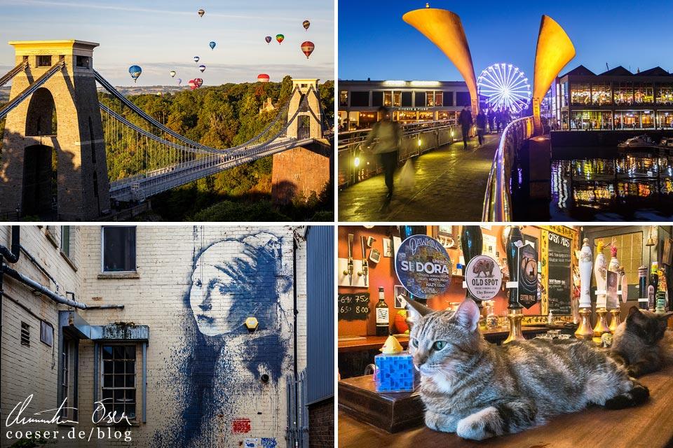 Reisetipps, Reiseinspiration und Fotospots aus Bristol, England