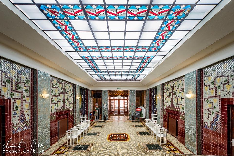 Foyer im Amalienbad in Wien