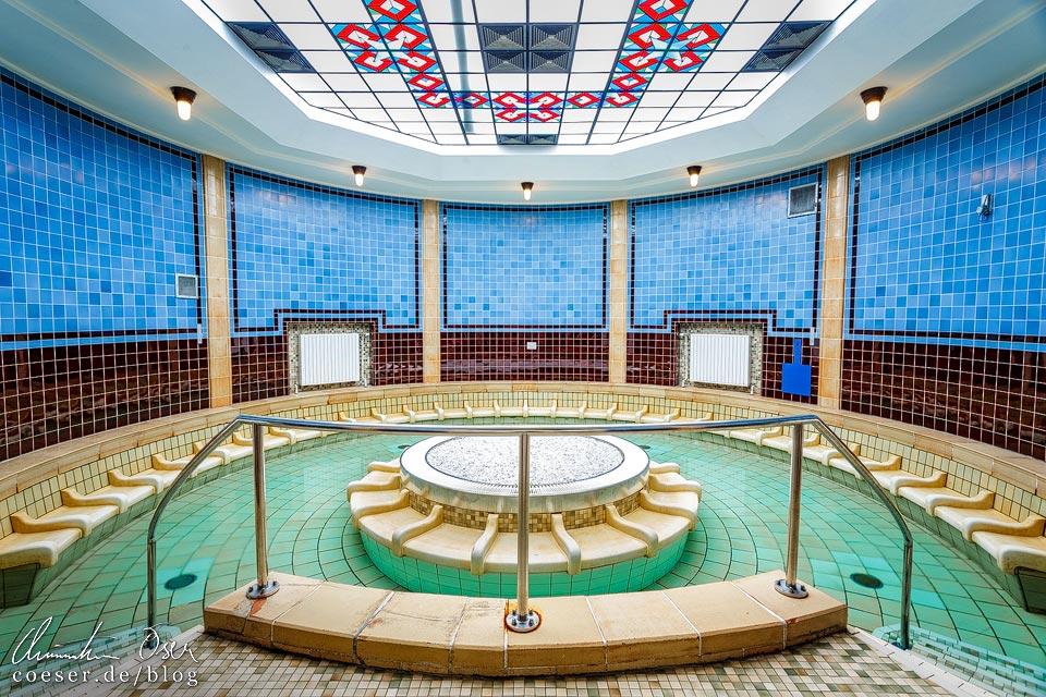 Saunabereich im Amalienbad in Wien