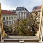 Aussicht vom Doppelzimmer im Hotel Gerlóczy Rooms de Lux in Budapest
