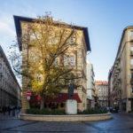 Außenansicht des Hotel Gerlóczy Rooms de Lux in Budapest