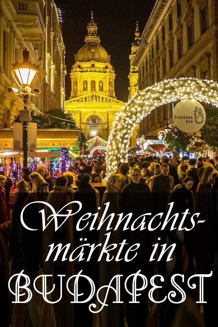 Weihnachtsmärkte in Budapest: Erfahrungsbericht mit Details zu Sehenswürdigkeiten, den besten Fotospots sowie allgemeinen Tipps.