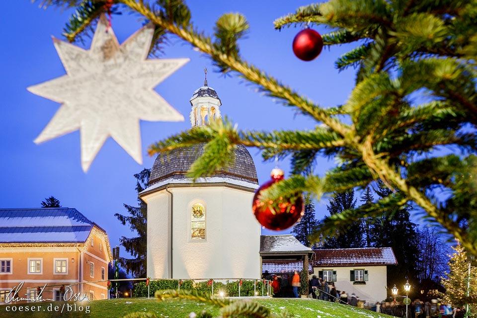 Stille-Nacht-Kapelle und Weihnachtsmarkt Oberndorf bei Salzburg