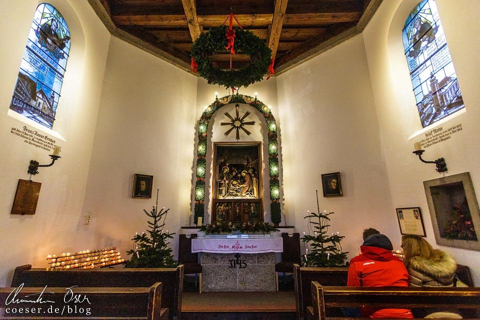 Stille-Nacht-Kapelle Oberndorf bei Salzburg