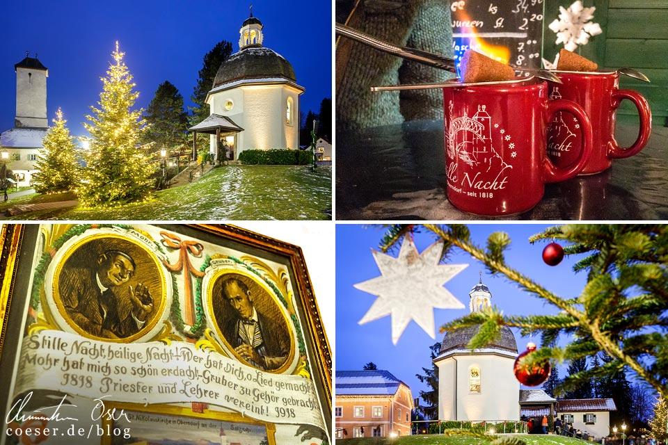 Reisetipps, Reiseinspiration und Fotospots aus Oberndorf bei Salzburg, Österreich
