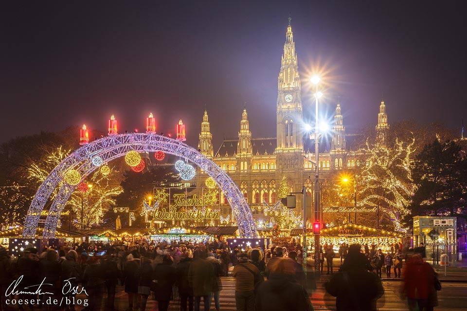 Christkindlmarkt vor dem Wiener Rathaus