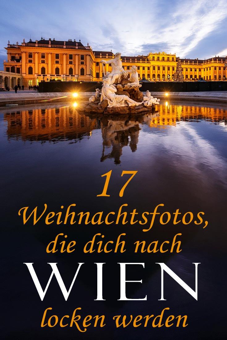 Wien in der Weihnachtszeit: Fotos der Weihnachtsmärkte, andere Sehenswürdigkeiten und die besten Fotospots in der Stadt