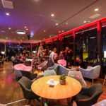 Das Café im Hochhaus Zagreb 360°
