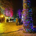 Der Weihnachtsmarkt im Maksimir-Park in Zagreb