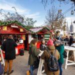 Der Weihnachtsmarkt auf der Strossmayer-Promenade in Zagreb