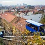Die Standseilbahn (Uspinjača) von Zagreb