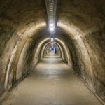Innenansicht des Grič-Tunnels in Zagreb