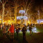 Weihnachtsstimmung auf dem Adventmarkt im Zrinjevac-Park