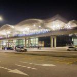 Außenansicht des Flughafens Franjo Tuđman in Zagreb