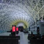 Innenansicht des Flughafens Franjo Tuđman in Zagreb
