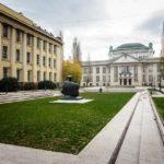 Außenansicht des kroatischen Staatsarchivs in Zagreb