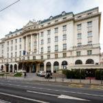 Außenansicht des Esplanade Hotels in Zagreb