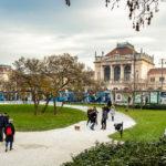 Außenansicht des Hauptbahnhofs in Zagreb