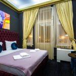 Doppelzimmer im Hotel Main Square Residence in Zagreb